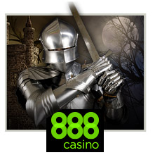 100 FREE SPINS for KNIGHTS & MAIDENS SLOTS at 888Casino